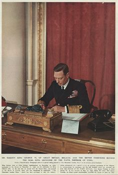 """If I'm King, where's my power? Can I form a government? Can I levy a tax, declare a war? No! And yet I am the seat of all authority. Why? Because the nation believes that when I speak, I speak for them. But I can't speak.""  - King George VI in 'The King's Speech'"