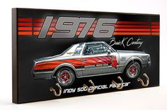 1976 Buick Century Indy 500 Pace Car Key Hanger