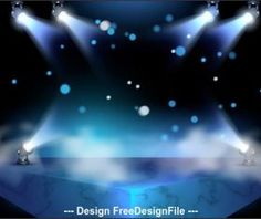 Spotlight effect vector Stage Spotlights, Photo Craft, Vector Background, Northern Lights, Rainbow, Travel, Projects, Photos, Crafts