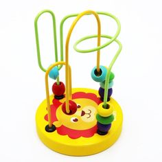 Building Blocks Toys, 6 Year Old, Early Education, Educational Toys, Round Beads, Baby Toys, Children, Young Children, Boys