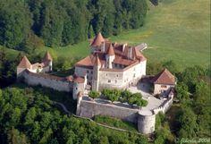 Schloss Greyerz (Gruyères) Switzerland