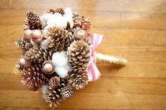 Holiday inspired bouquet