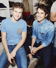 Pretty Little Liars - Keegan Allen and Tyler Blackburn ♥