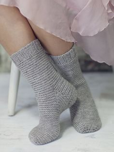 Nordic Yarns and Design since 1928 Wool Socks, Knitting Socks, Baby Knitting, Crochet Needles, Knit Crochet, Crochet Hats, Textiles, Boot Cuffs, Crochet Slippers
