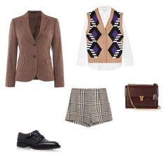 """Fashion"" by bochkaevaa on Polyvore featuring мода, Acne Studios, Zara, Miu Miu, GANT, Valentino и Yves Saint Laurent"