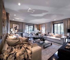 TV Room Headquarters #EricKuster #MetropolitanLuxury #InteriorDesign