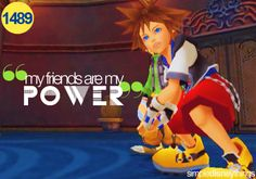 Hrrrrng. I love Kingdom Hearts, okay. It's the only video game I really really enjoy playing. (Besides like Guitar Hero and Singstar and Just Dance.)