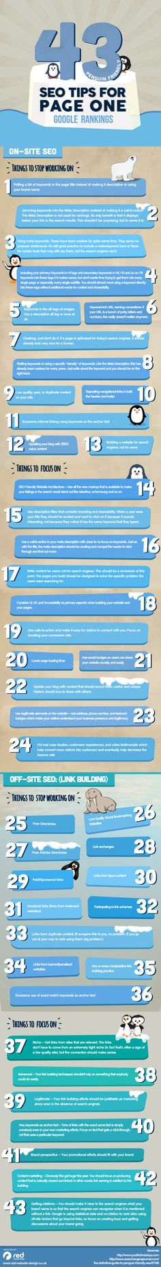 43 SEO tips for page one Google Rankings #infografía  see more at : http://www.brightlivingstone.com/seo/