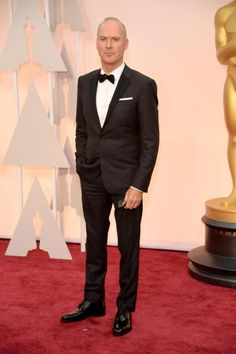 Ganz klassisch kam Michael Keaton in Ralph Lauren Black Label.