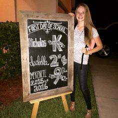 First Day of High School! Freshman year of High School. Back to school Chalk Board. First day of school Chalk Board.