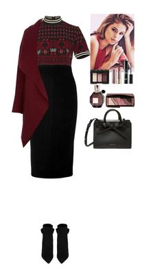 Outfit by eliza-redkina on Polyvore featuring polyvore fashion style Anna Sui Harris Wharf London Victoria Beckham Yves Saint Laurent NARS Cosmetics MAKE UP FOR EVER Urban Decay Viktor & Rolf clothing StreetStyle outfit like look Fall2016