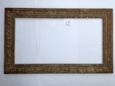 American Wood Frame for auction. American Wood Frame x 32 x inches Fine Art Auctions, Art Supplies, American, Wood, Frame, Home Decor, Picture Frame, Decoration Home, Woodwind Instrument