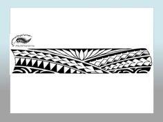 Polynesian Style Arm Tattoo Designs #maoritattoosbracelet