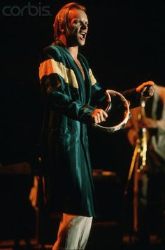 Sting Playing the Tambourine 14 ottobre 1988