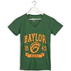 Baylor Bears Women's Banner V-Neck T-Shirt