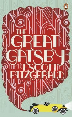 The Great Gatsby cover design