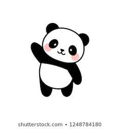Portfólio de fotos e imagens stock de Gabriyel Onat 365 Kawaii, Panda Kawaii, Cute Panda Cartoon, Cute Panda Drawing, Panda Wallpapers, Cute Cartoon Wallpapers, Cute Easy Drawings, Kawaii Drawings, Panda Sketch