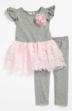 Pippa & Julie Tunic & Leggings (Toddler) available at #Nordstrom
