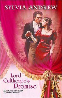 Sylvia Andrew - Lord Calthorpe's Promise / #awordfromJoJo #HistoricalRomance #SylviaAndrew