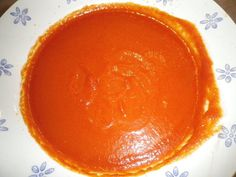 recette de soupe à la tomate et à la mozzarella préparée dans le Companion