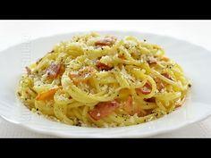 Spaghete carbonara | JamilaCuisine - YouTube Pasta Recipes, Cooking Recipes, Healthy Recipes, Pasta Carbonara, Romanian Food, Romanian Recipes, Penne, Healthy Life, Bacon
