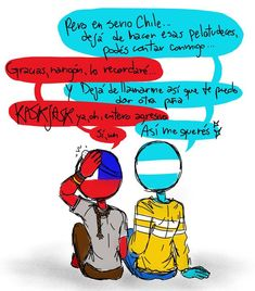 Read argchi 2 from the story countrychip De Todo Tipo by dintrapDG (Danaeli-stuff) with reads. Types Of Humans, Humans Meme, Mundo Comic, Soloing, Read News, Happy Father, Wattpad, Funny Pictures, Fan Art