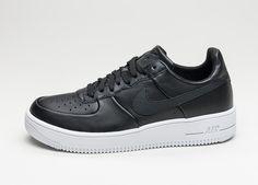 Nike Air Force 1 Ultraforce Leather (Black / Black – White) #lpu #sneaker #dailydrops #hypesrus