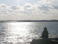 Sunlight Fishing by Trish Nicholas