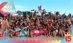 Gran grupo el grupo #rojoJ16 copando #Disney con #enjoy15!#EstamosEnDisney!