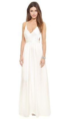 Contrarian dress anthropologie wedding
