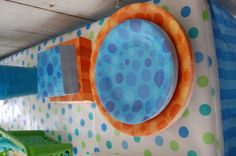 plates from Hobby Lobby for bubble guppies party