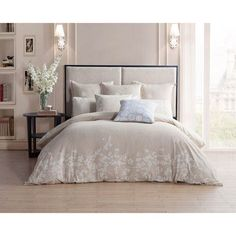 Laramie Linen Full Comforter Kensie Home Comforter Comforter Sets Bedding