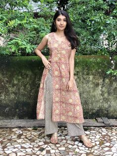 Fiza Slit Detail Kurta – THE INDIAN ETHNIC CO. Latest Kurti Design LATEST KURTI DESIGN : PHOTO / CONTENTS  FROM  IN.PINTEREST.COM #FASHION #EDUCRATSWEB
