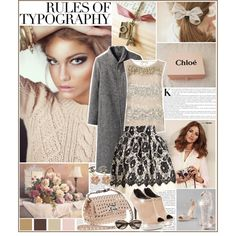 autumn in flowers - Polyvore