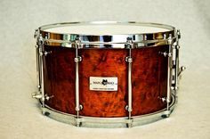 Colonial Birdseye Maple Snare Drum