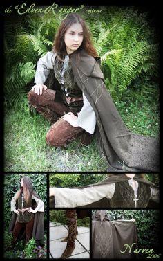 """""""Elven Ranger"""" costume by lady-narven.deviantart.com on @deviantART"""