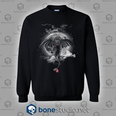 Night Fury Sweatshirt Unisex size S,M,L,XL,2XL,3XL