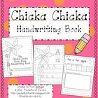 This is a Chicka Chicka Boom Boom themed handwriting book for the year!  Have the children color and write their names on the front cover of the bo...