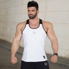24d8a8f2b6 2017 Brand mens sleeveless Summer men Tank Tops Clothing Bodybuilding  Undershirt Casual Fitness tanktops tees Tank