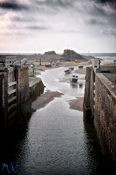 Bude Sea Lock, Cornwall. Do you spend hours, days, weeks, dreaming of escaping…