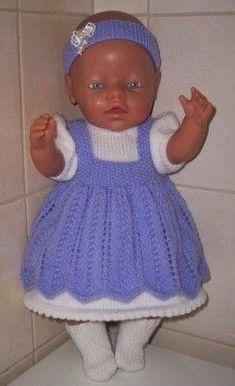 Voorbeeldkaart - baby born setje - Categorie: Breien - Hobbyjournaal uw hobby website