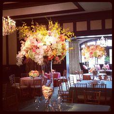 Doesn't get more summer than this color palette. @paigechenault @sarafayegan. Events by Jackson Durham #jacksondurham #wedding #weddingflowers #floral #flowers #floraldesign #events #eventdesign #summertime #summerflowers