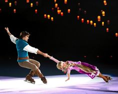 Disney on ice the coolest place ever!! :-)