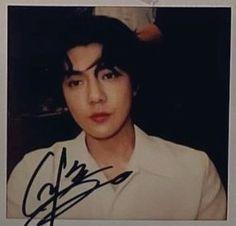 Sehun - Some By Mi Polaroid | EXO Sehun, Exo, Polaroids, Handsome, Twitter