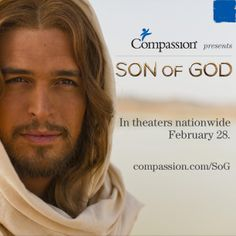 In an effort to connect those most touched by the message of #SONOFGOD, we have joined with this film to sponsor special showings in more than 100 theaters around the nation. #SpreadtheWord