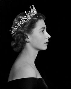 History of the British Monarchy:  Queen Elizabeth II by Dorothy Wilding - 1952
