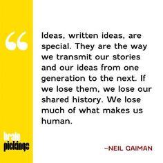 written ideas
