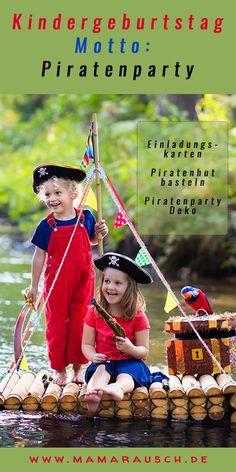 Ein #Kindergeburtstag mit dem Motto #Piratenparty - was gibt es schöneres für kleine Jungs..#Piratenhut basteln oder ein #Fernrohr #basteln, Einladung zur Piratenparty #diy Disney Characters, Fictional Characters, Disney Princess, Harry Potter, Diy Invitations, Party Ideas For Kids, Kids Birthday Games, Little Boys, Fantasy Characters