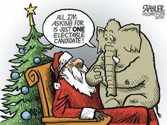 Jeff Stahler Editorial Cartoon, December 17, 2015     on GoComics.com