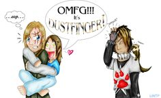 .:Dustfinger GLOMP:. by Milestailsprower2991